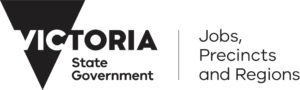 Victorian Government Department of Jobs, Precincts and Regions logo